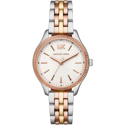 Michael Kors orologio donna Lexington.  In acciaio inossidabile inossidabile tricolor MK6642