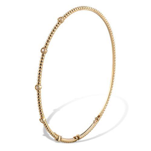 MORAGLIONE 1922 Mini Bubbles bracciale oro e diamanti kt.0.12